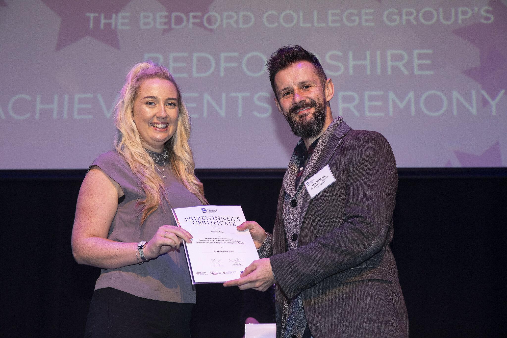 Bedfordshire Achievements Ceremony 2019