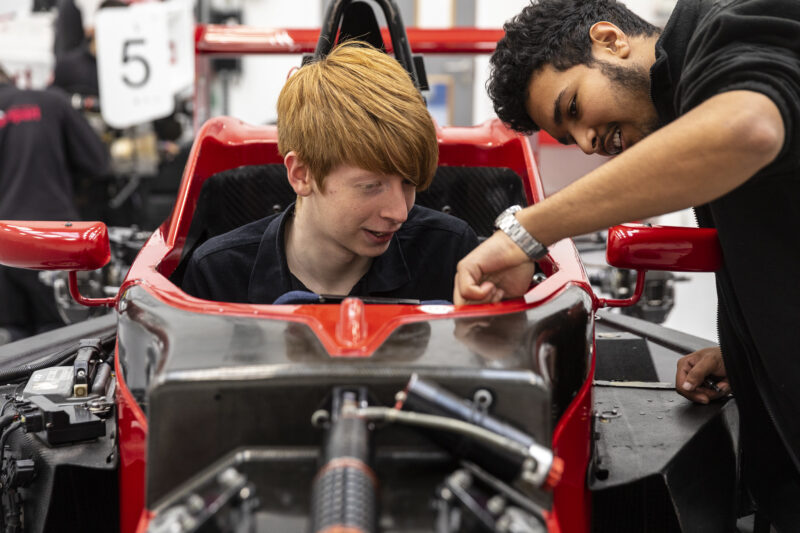 National College for Motorsport Video Photo