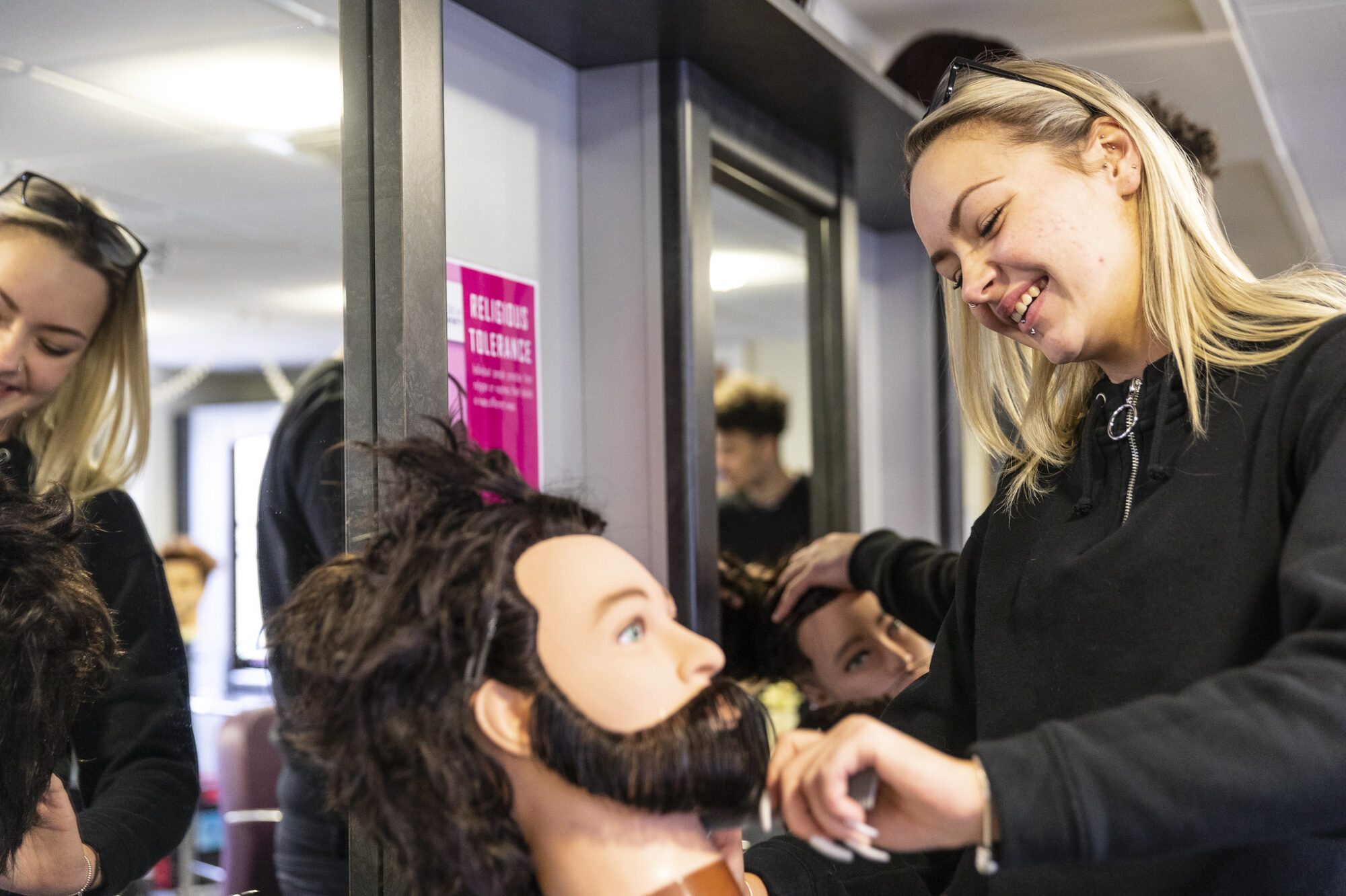 Bedford College Hair And Beauty Video Banner