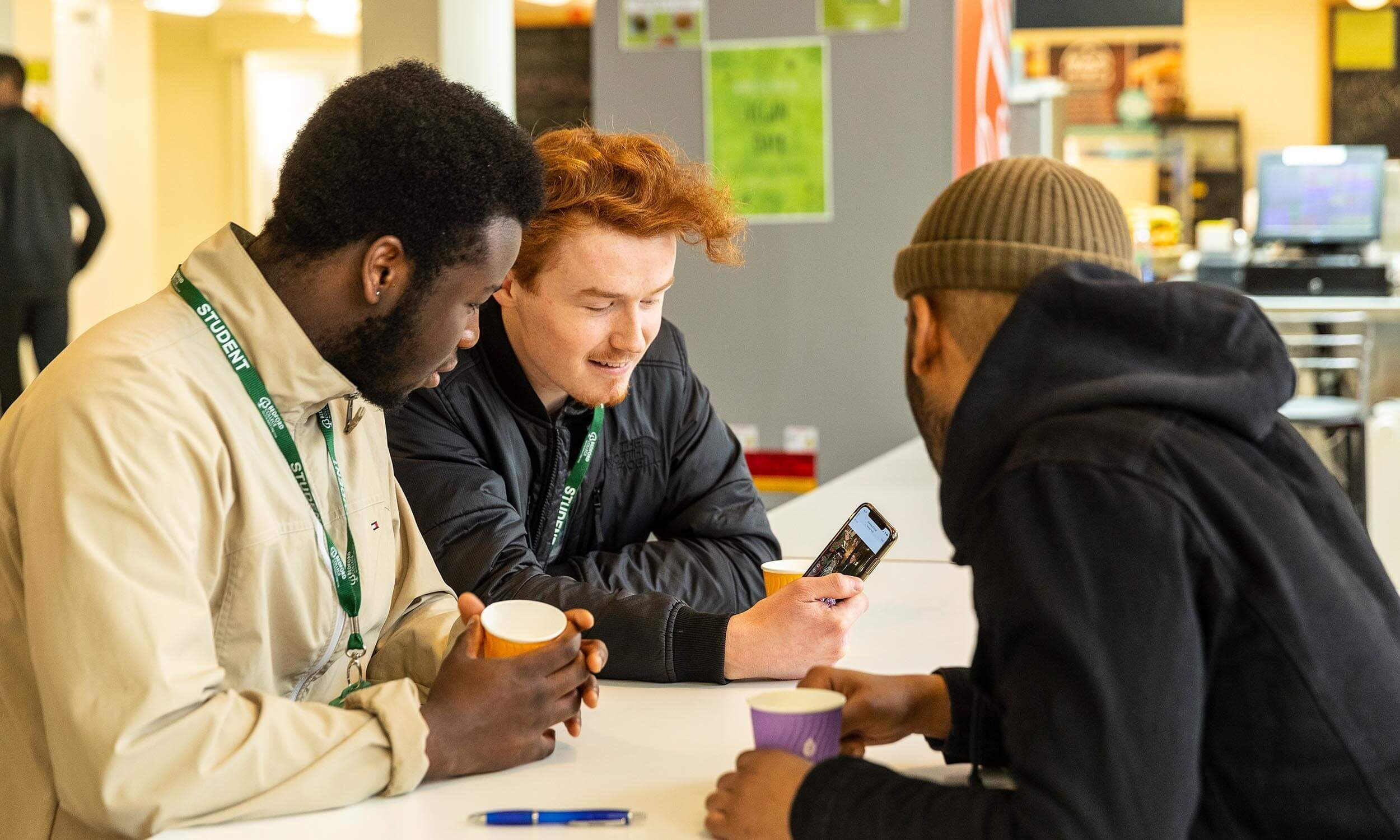 Students at Bedford College Group