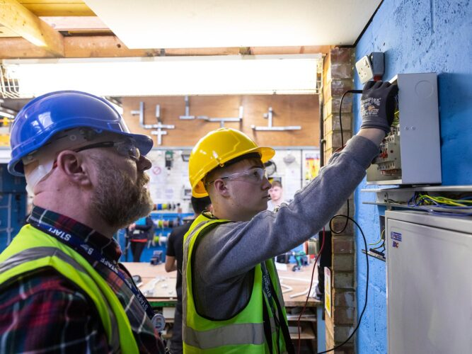Bedford College Group Apprenticeship Students