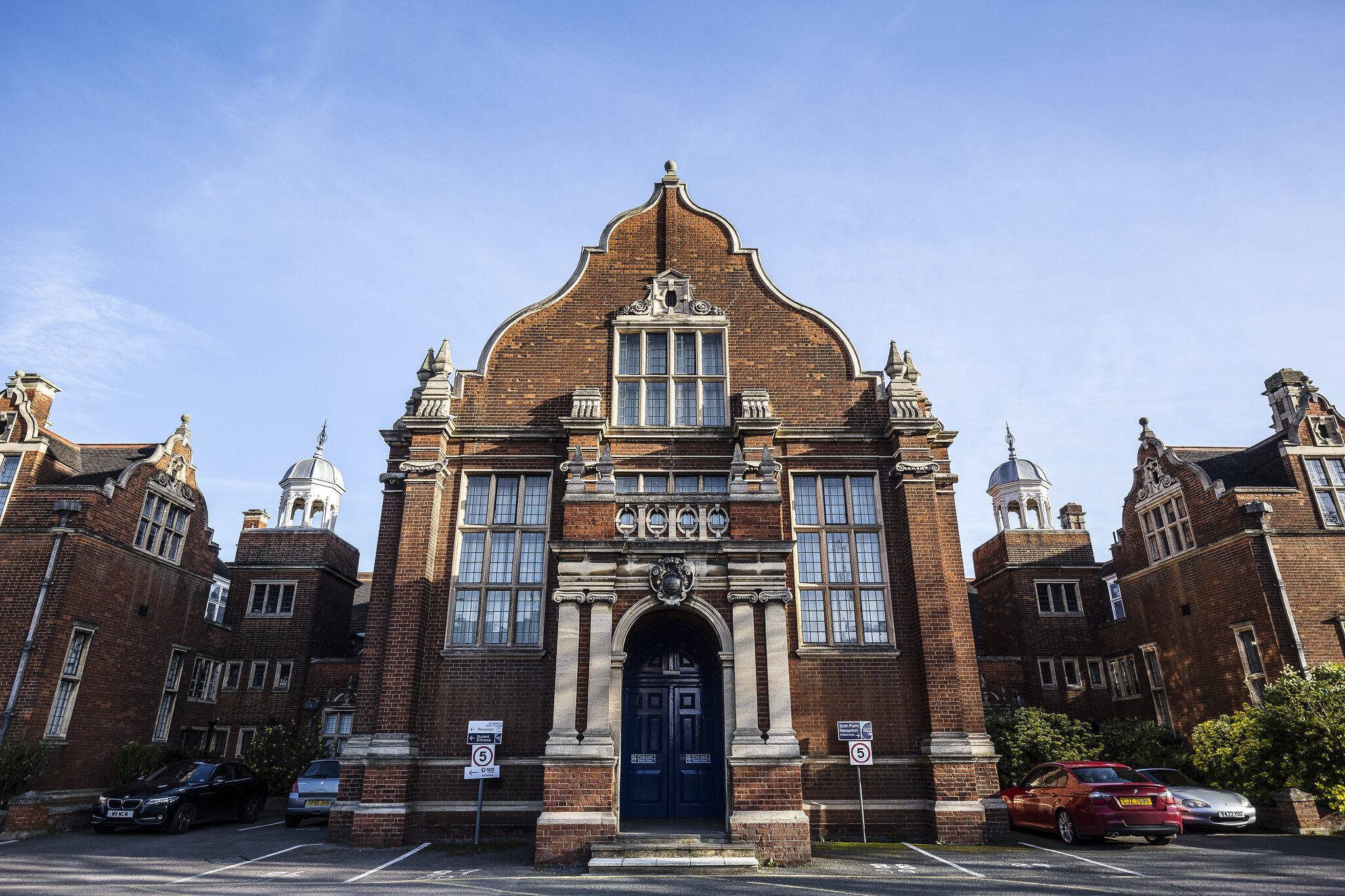 The Bedford Sixth Form campus building Bromham Road