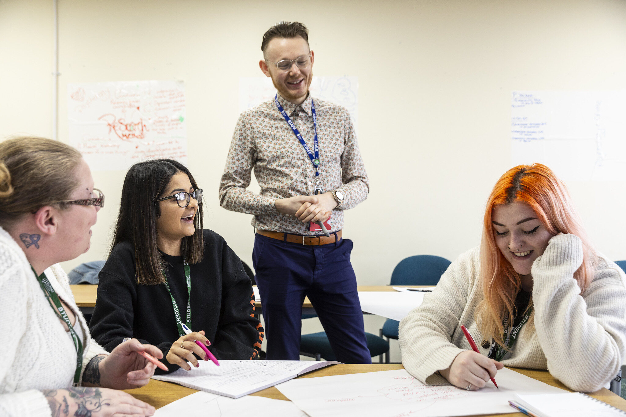 Access to University students at Bedford College