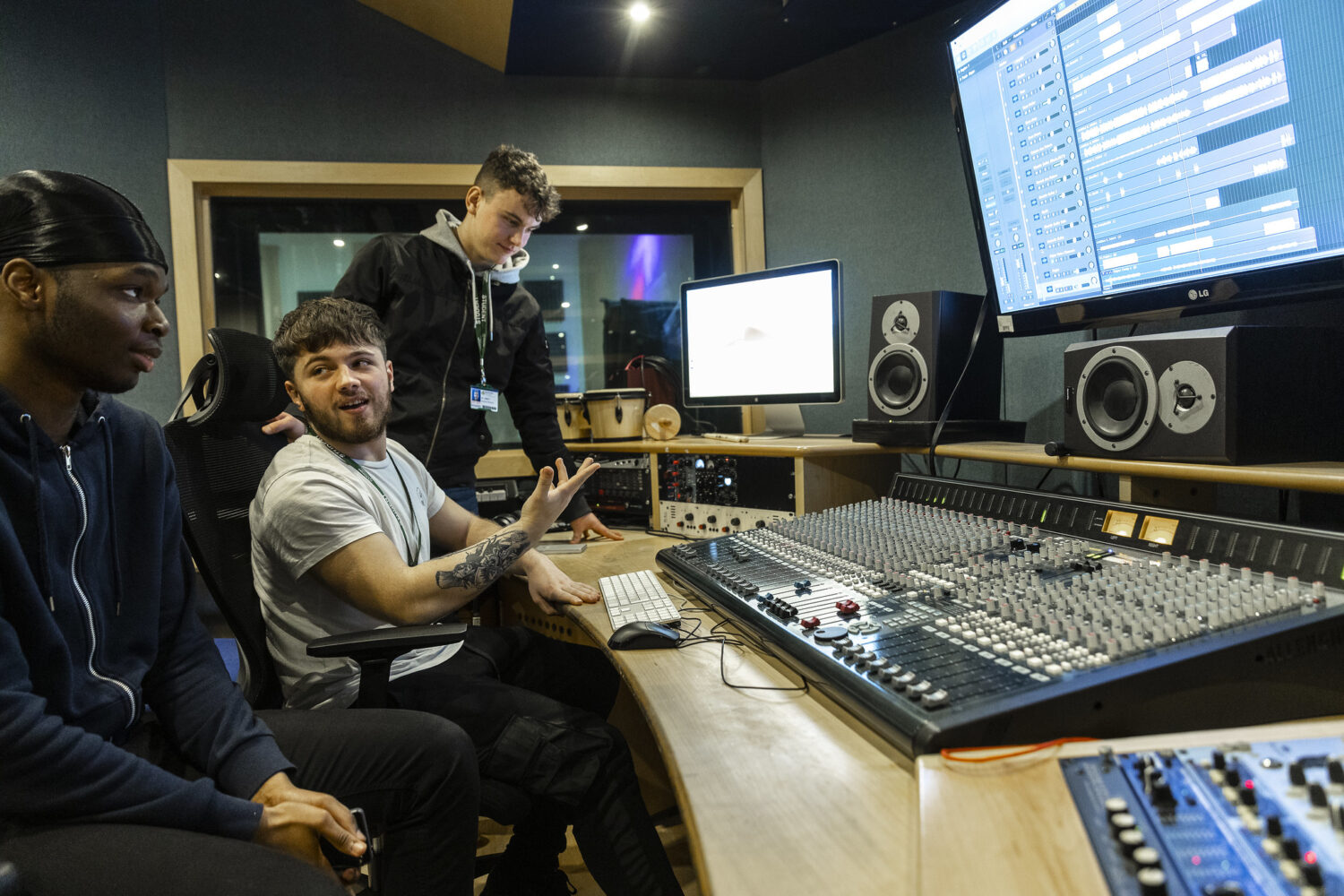 Music Technology Bedford College Students