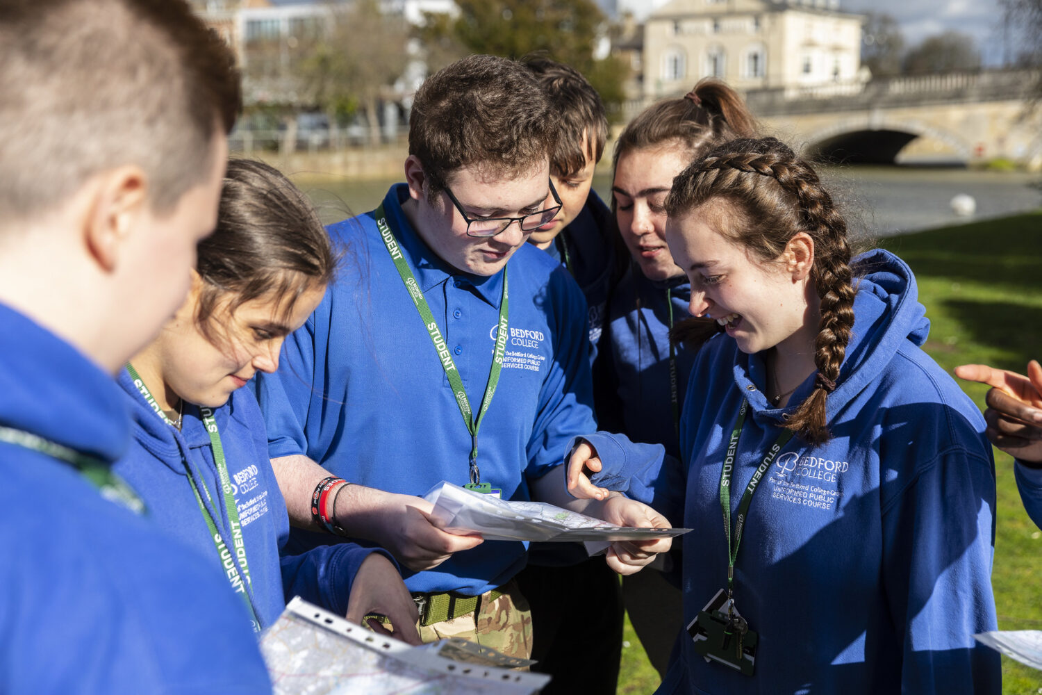 The Bedford College Group Public Services Students