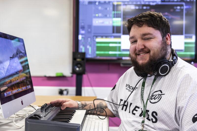 Music Technology Tresham College Students