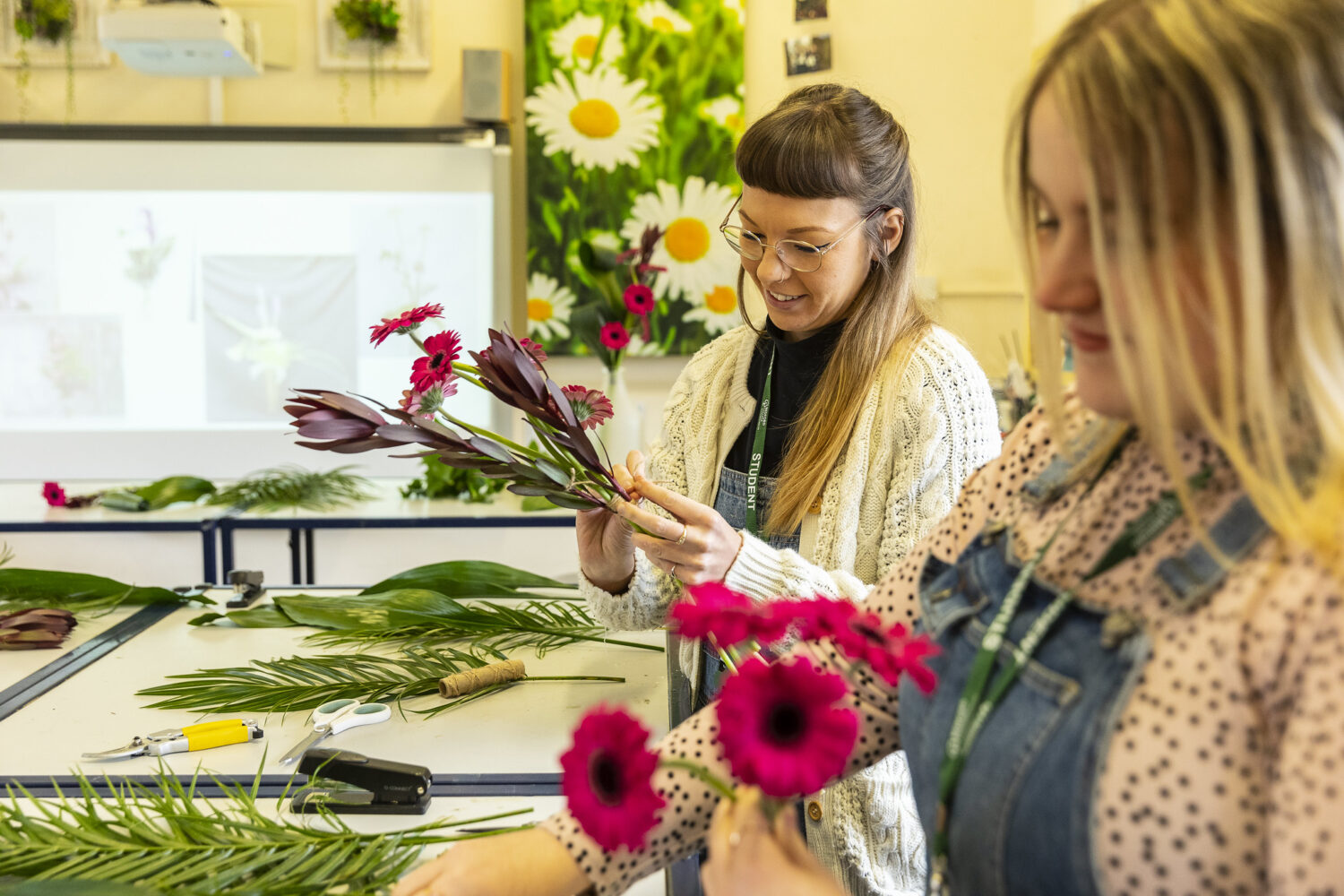 Shuttleworth College Floristry Students