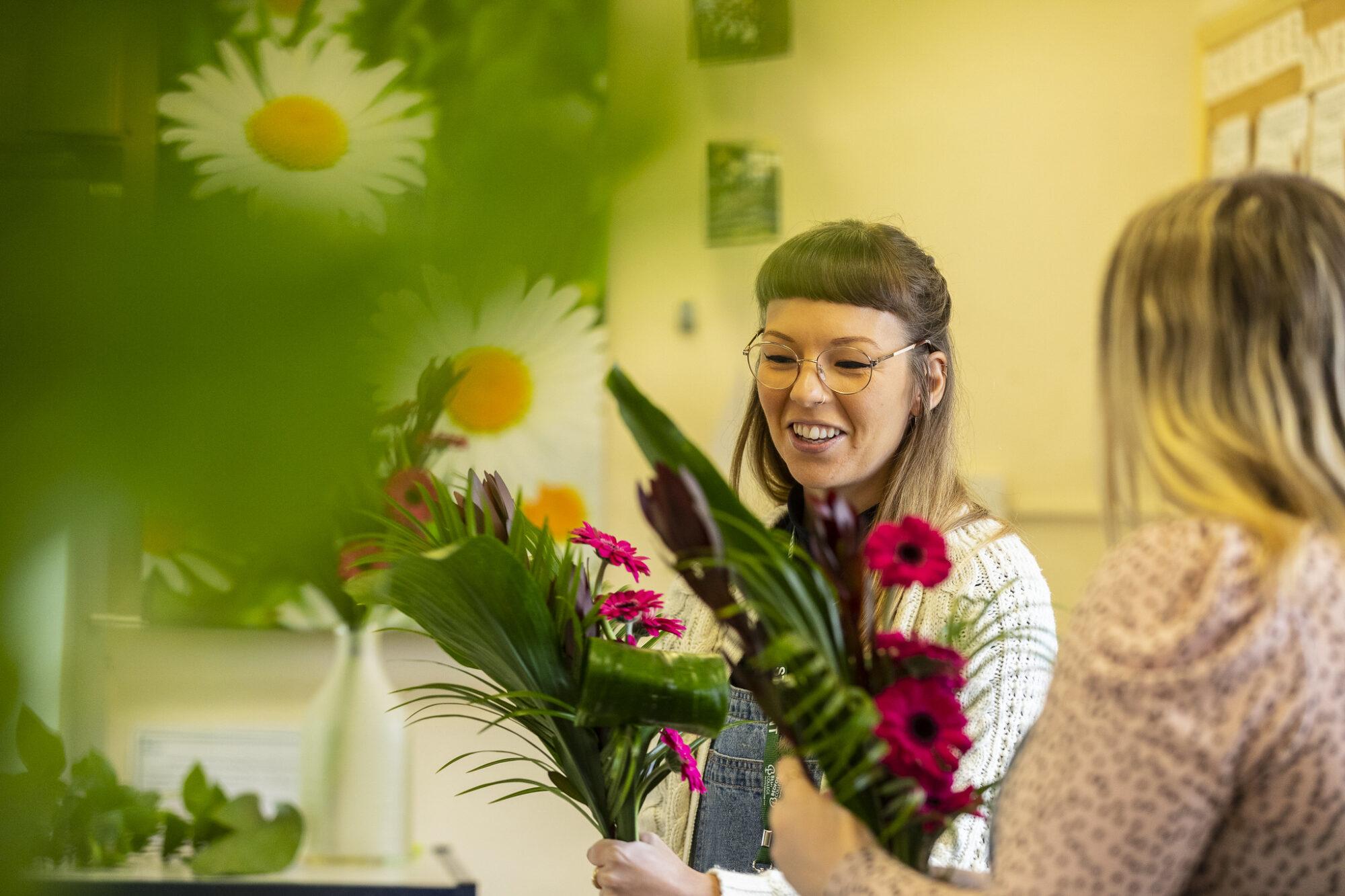 Floristry Shuttleworth College 2