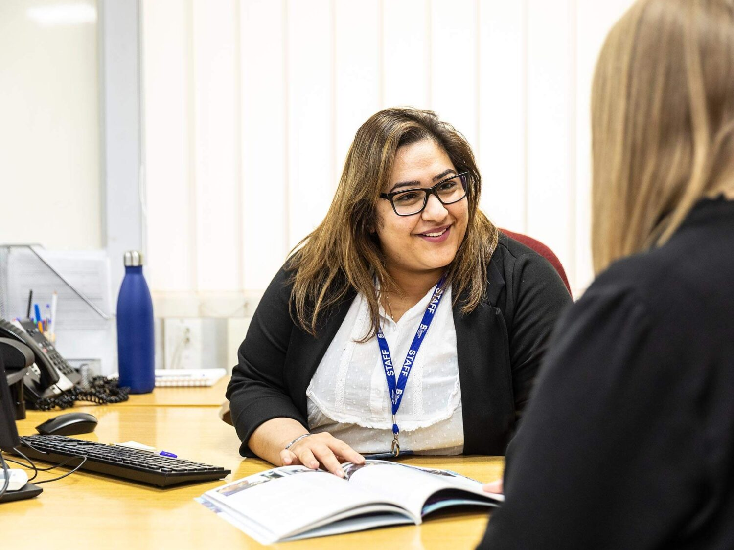 Bedford College Group staff member