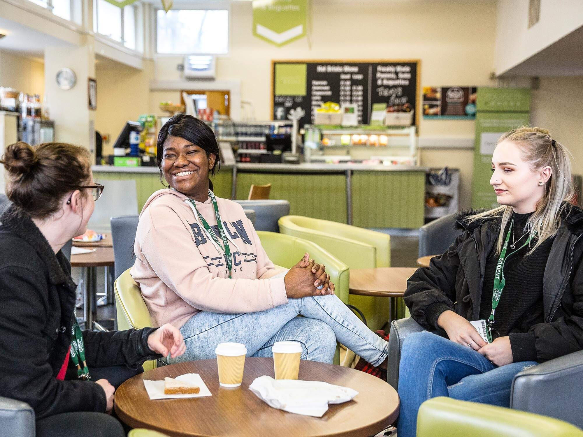 Cauldwell Campus students