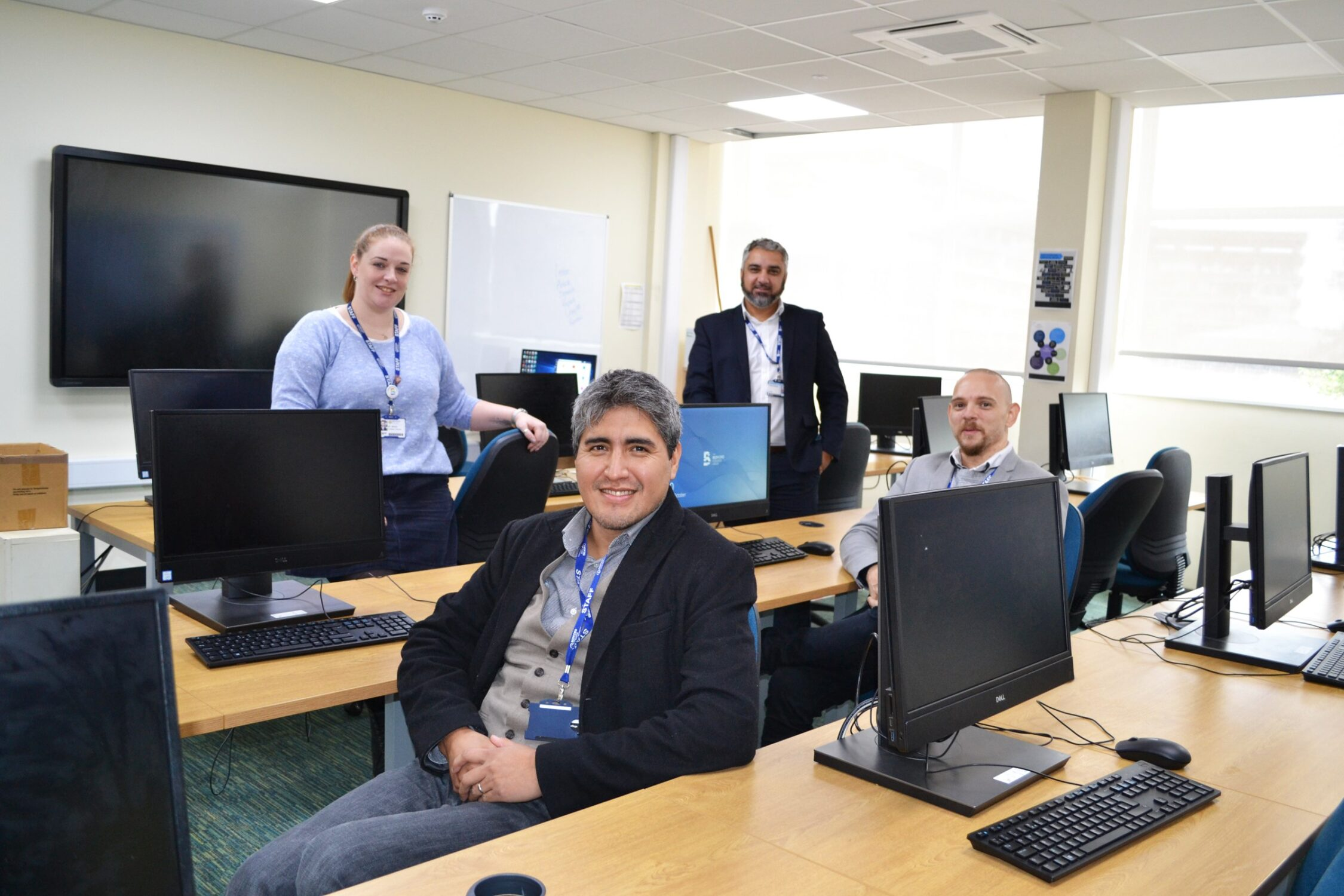 Computing tutors Bedford College degree learning