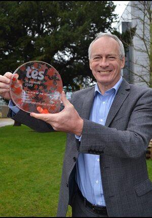 Ian Pryce TES FE College of the Year Award 2020