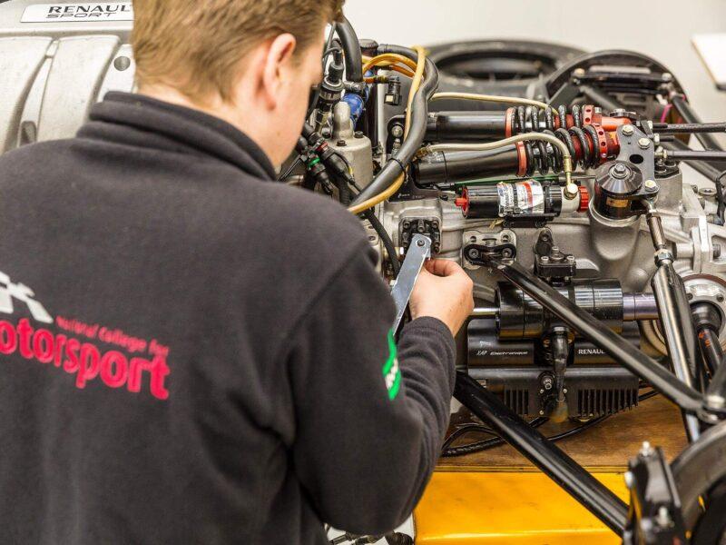 National College for Motorsport Students