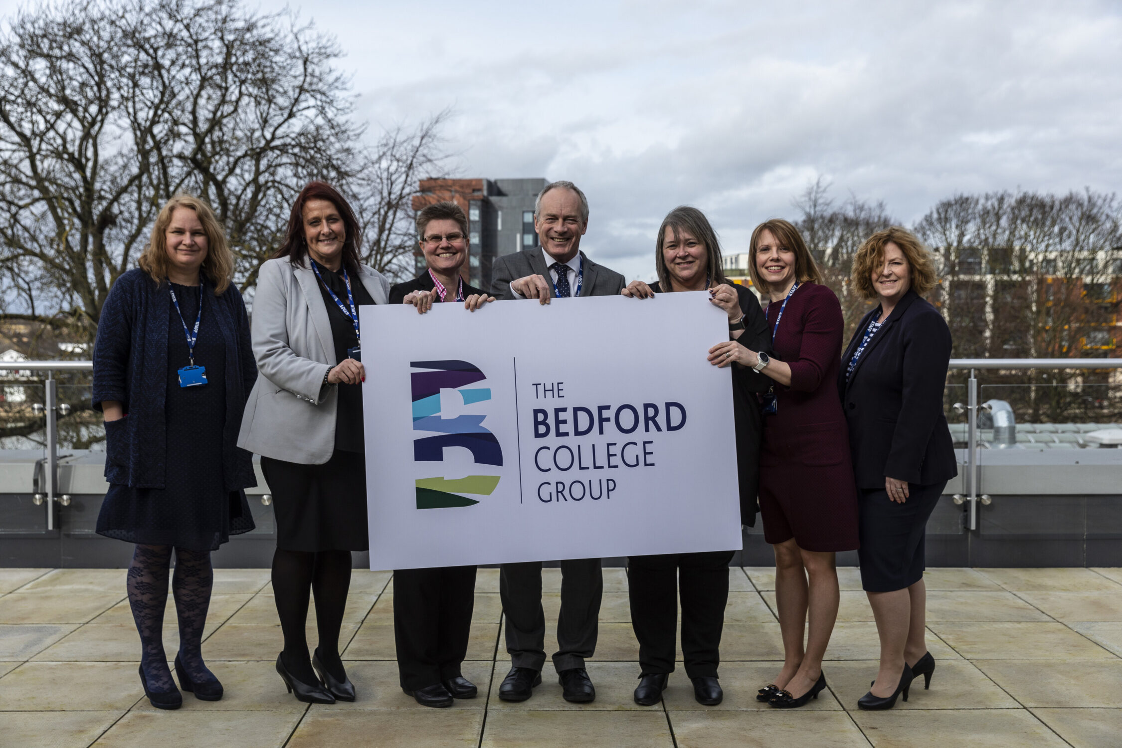 The Bedford College Group Executive staff members