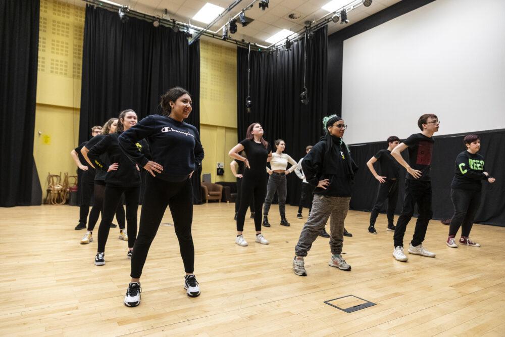 Performing Arts Tresham College Students