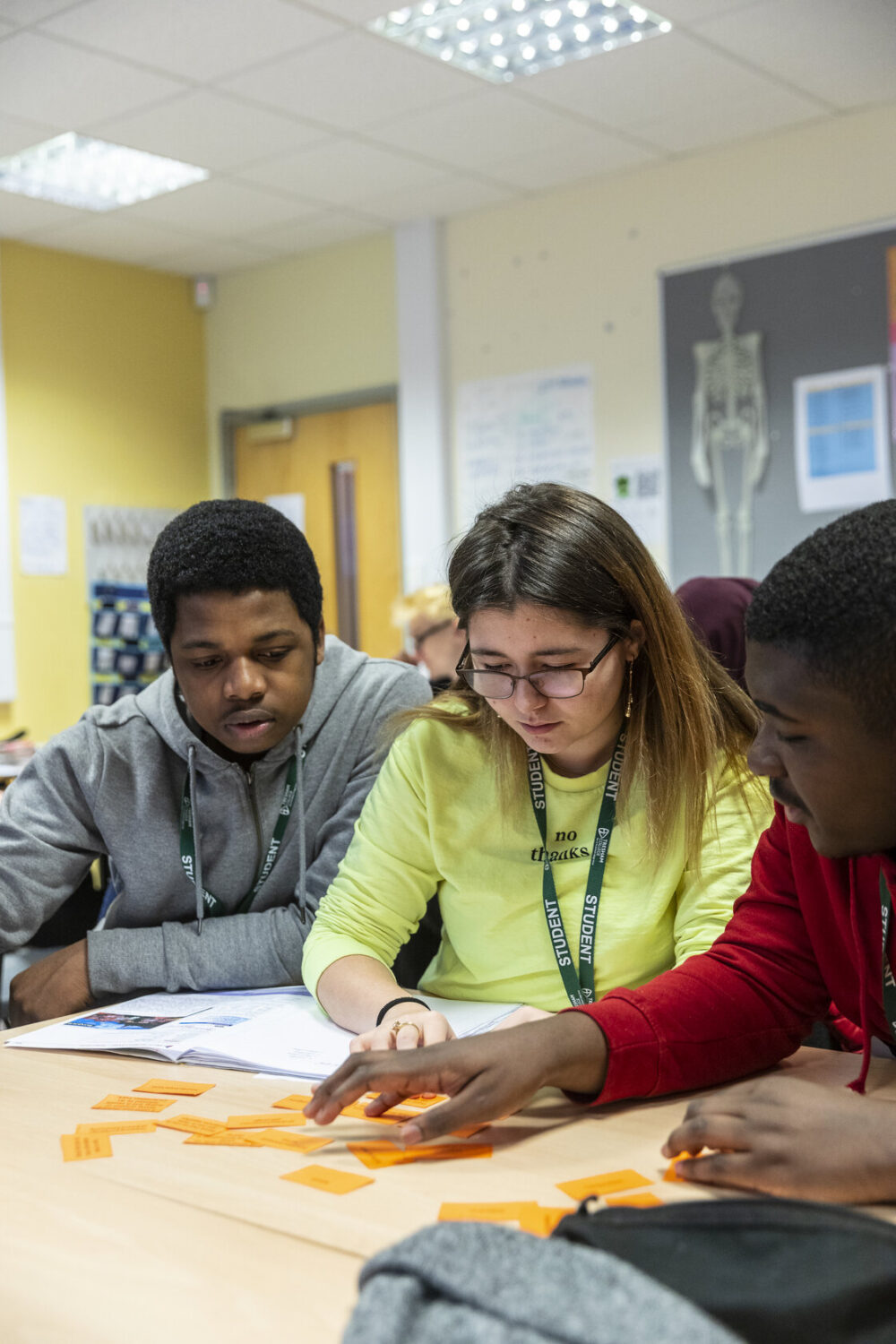 ESOL students Bedford College