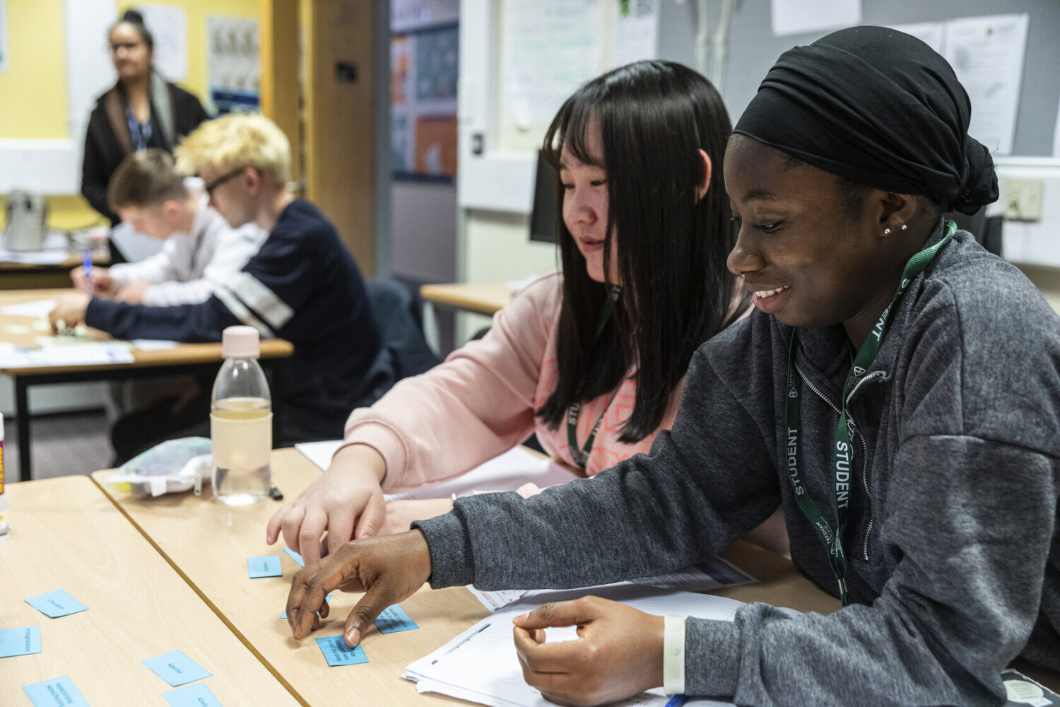 English for Speakers of Other Languages students Bedford College