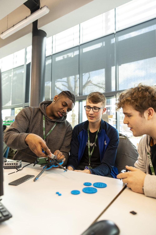 Engineering students Tresham College