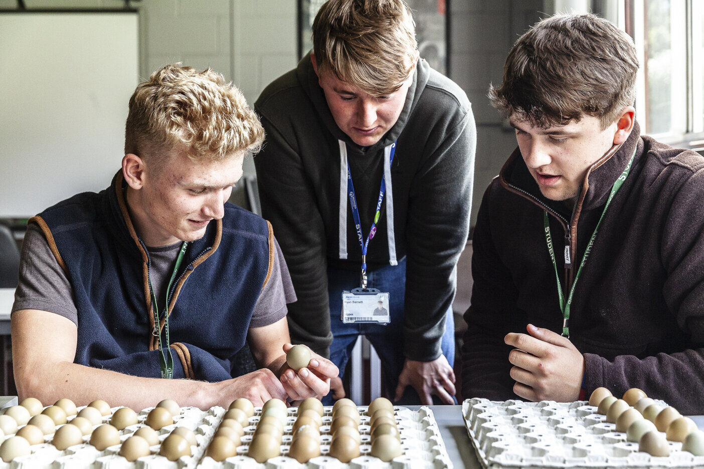 Countryside Management students Shuttleworth College