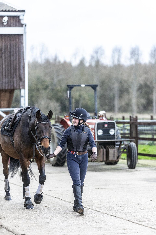 Equine practical lesson Shuttleworth College