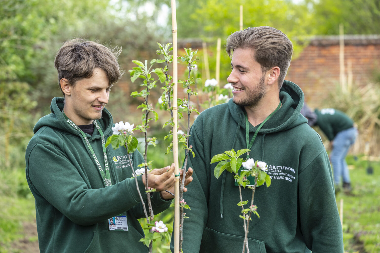 Shuttleworth College Horticulture Students