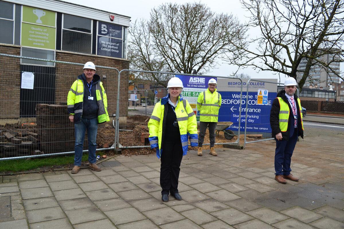 Construction Centre New build PR