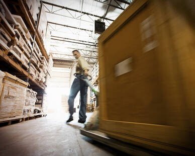Distance learning Warehousing