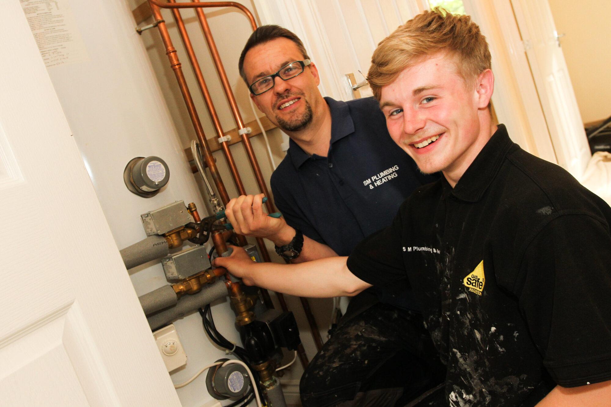 Apprentice plumbing