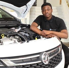 Cropped Vauxhall apprentice