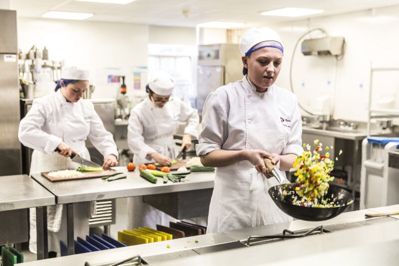 Tresham College Hospitality Student