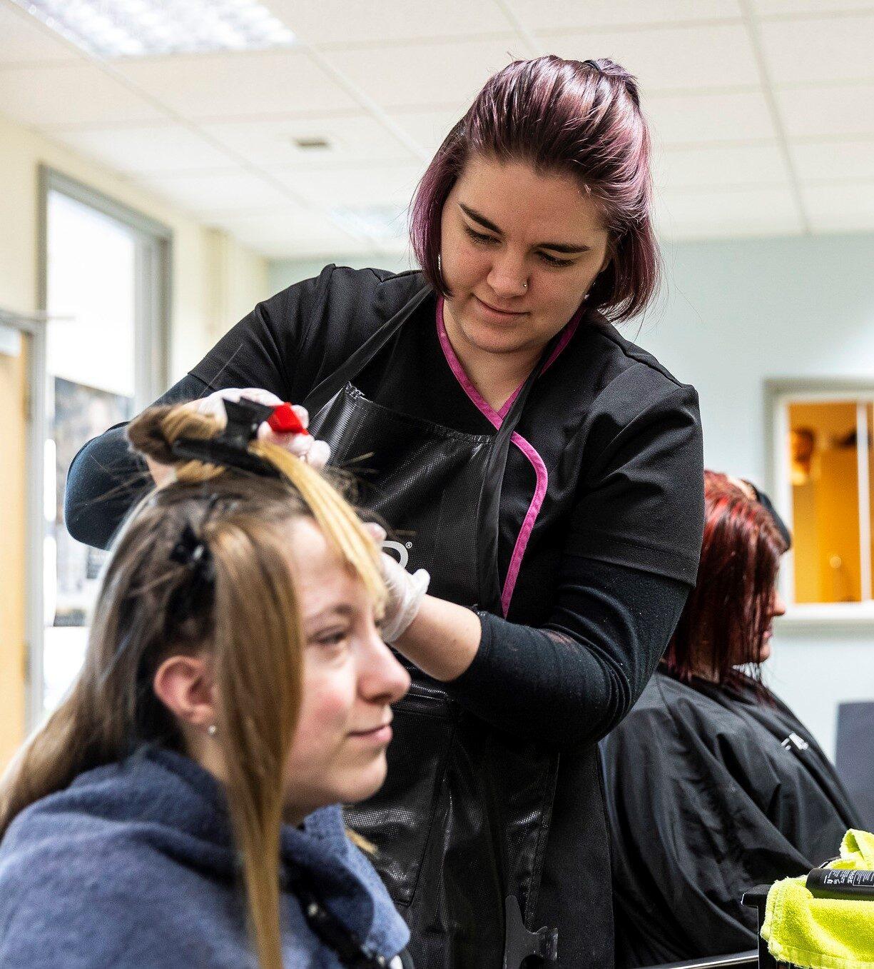 Tresham College Hairdressing Level 3