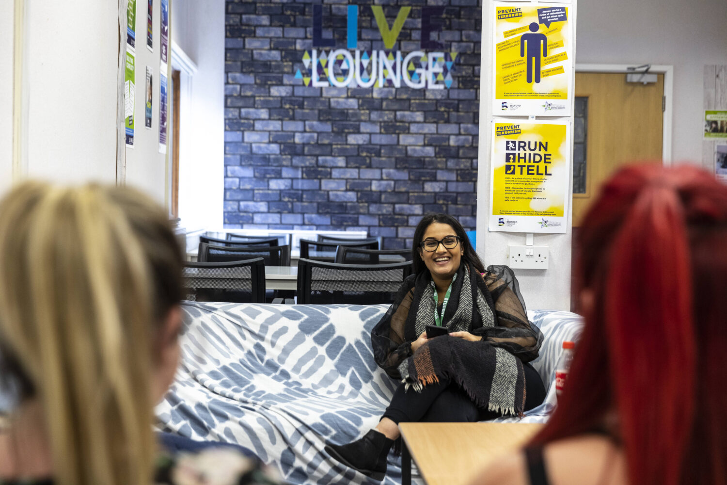 Students Live Lounge your space