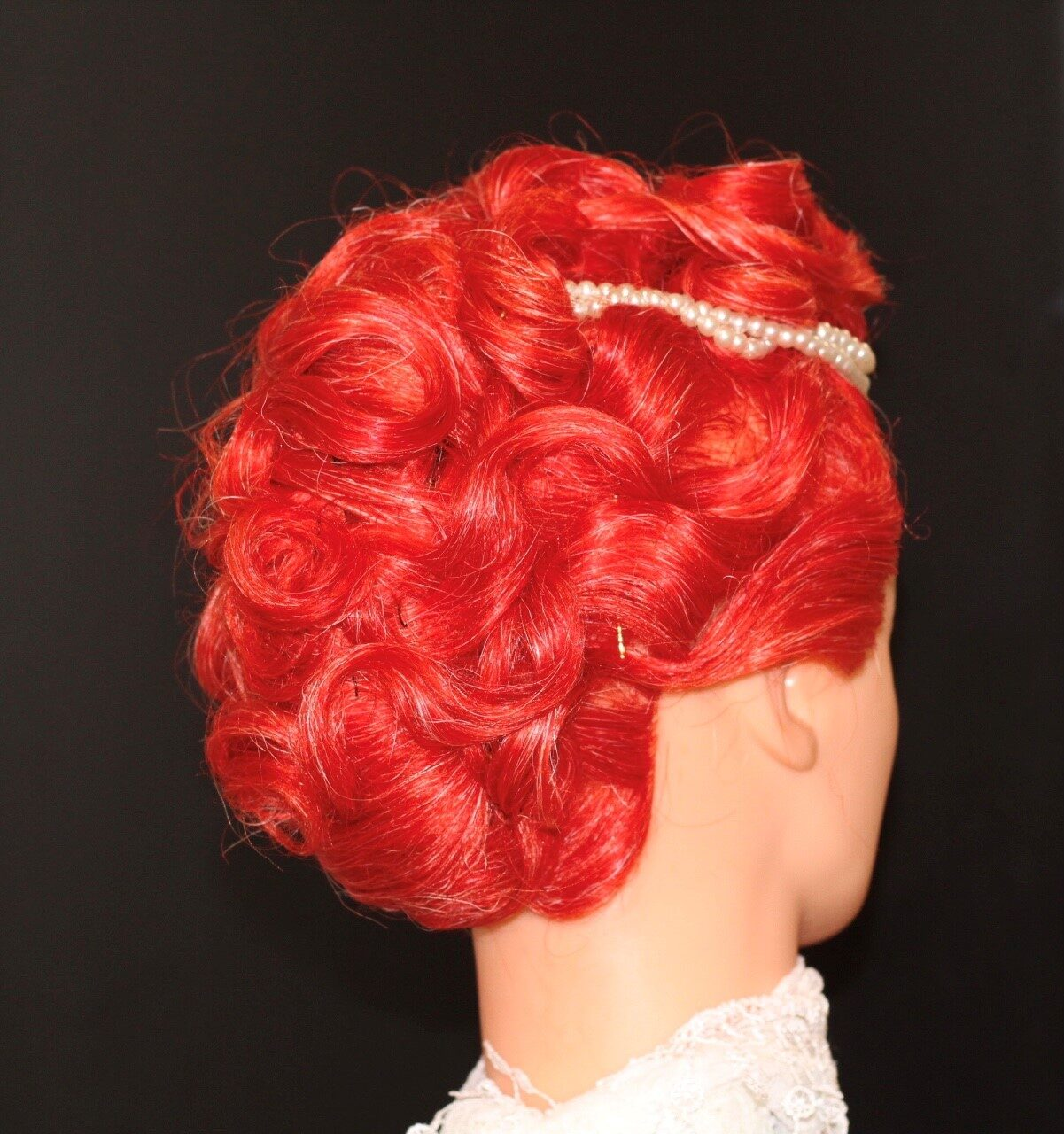 Tresham College Hair and Beauty students Concept Hair competition