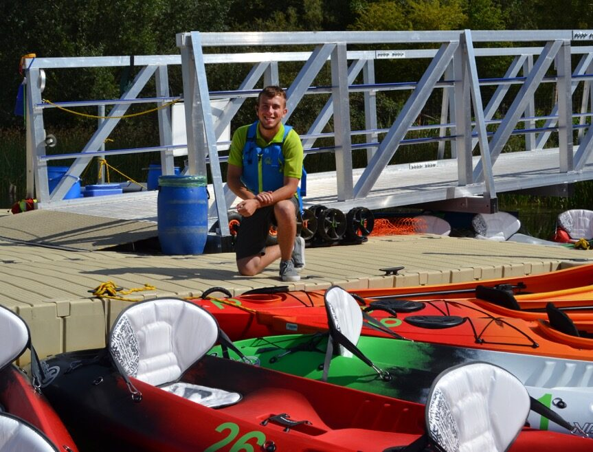 students at Rushden Lakes