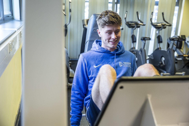 Tresham College Sport & Fitness Student