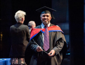 Bedford College Achievements Ceremony Higher Education student graduating