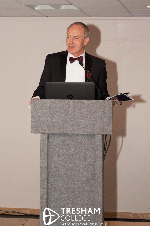 Tresham College Achievements Ceremony 2017 Ian Pryce