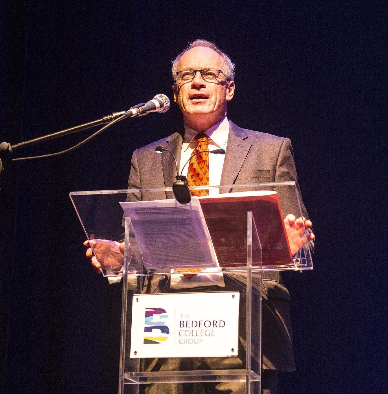 Bedfordshire Achievements Ceremony 2019 Ian Pryce