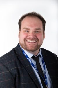 The Bedford College Group Director of HE Alex Mortby