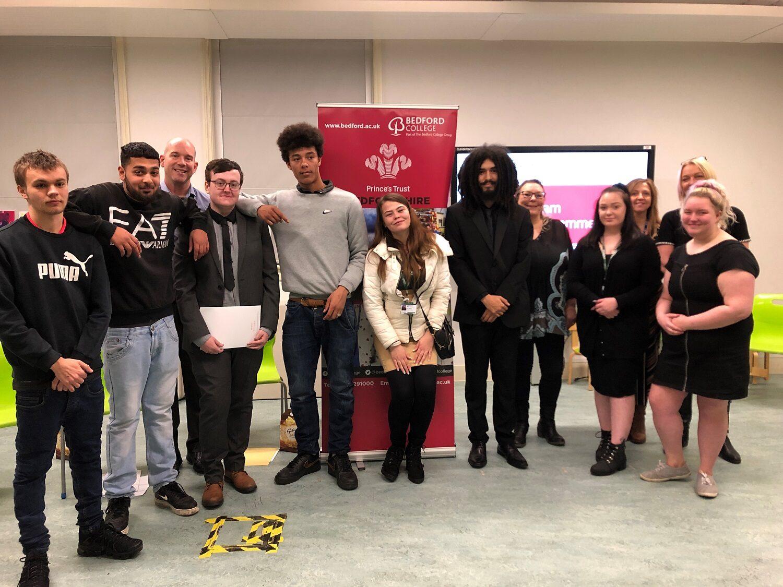 Bedford College Princes Trust Team 5
