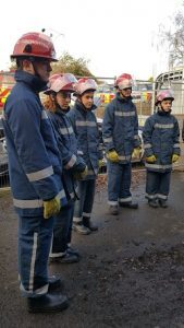 Tresham College UPS students visit Fire station