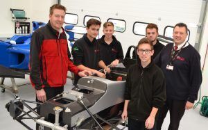 Lewis Hamilton's Car at National College for Motorsport