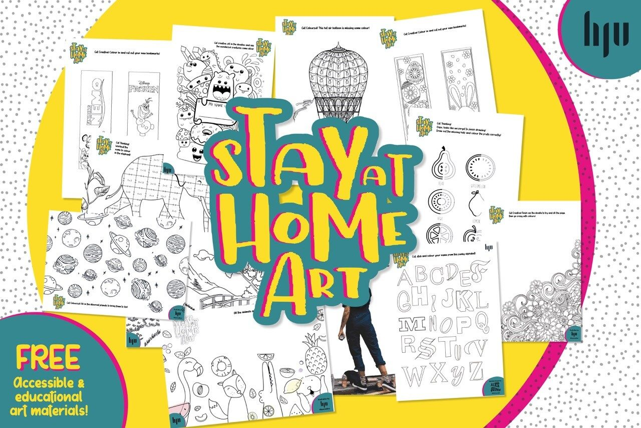 Stay at home Art PR Story