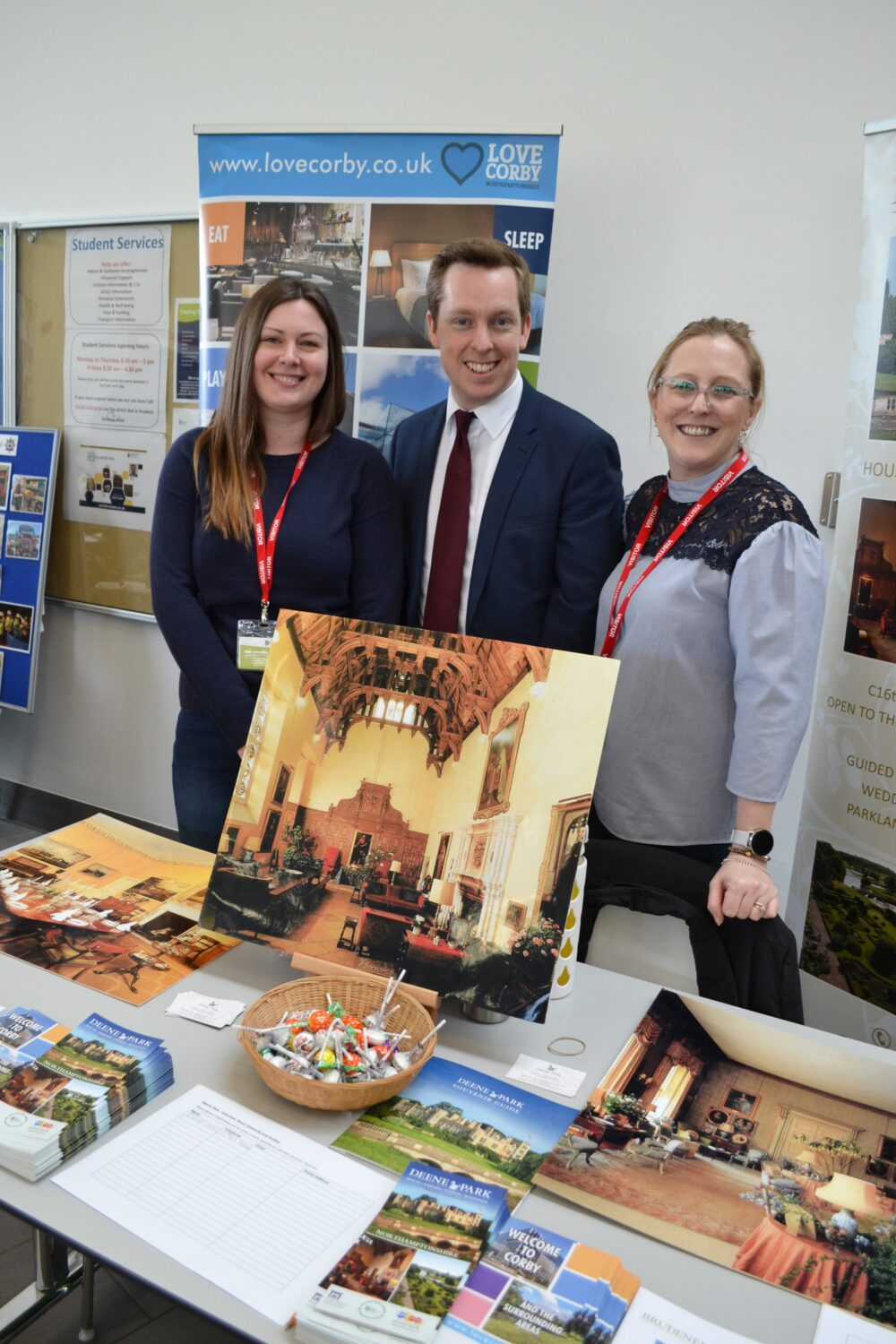 Corby MP Careers Fair at Tresham College Corby Campus
