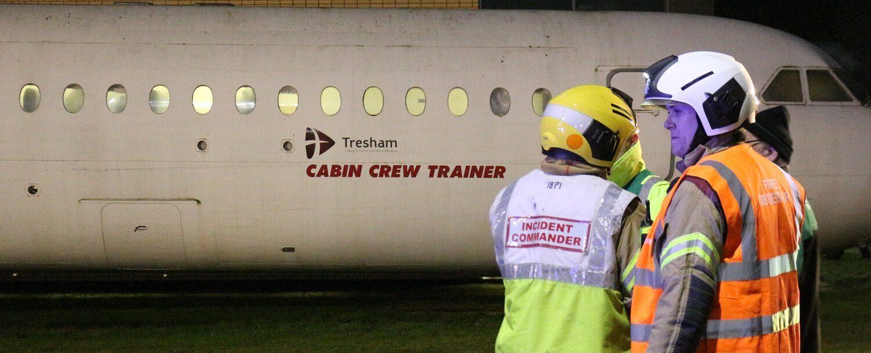 Tresham College Emergency Services training
