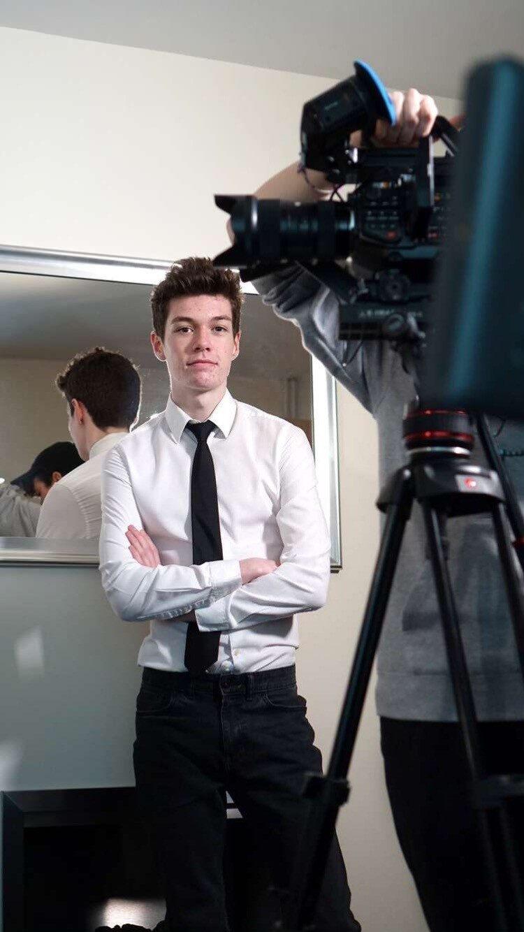 Tresham College Performing Arts student Josh