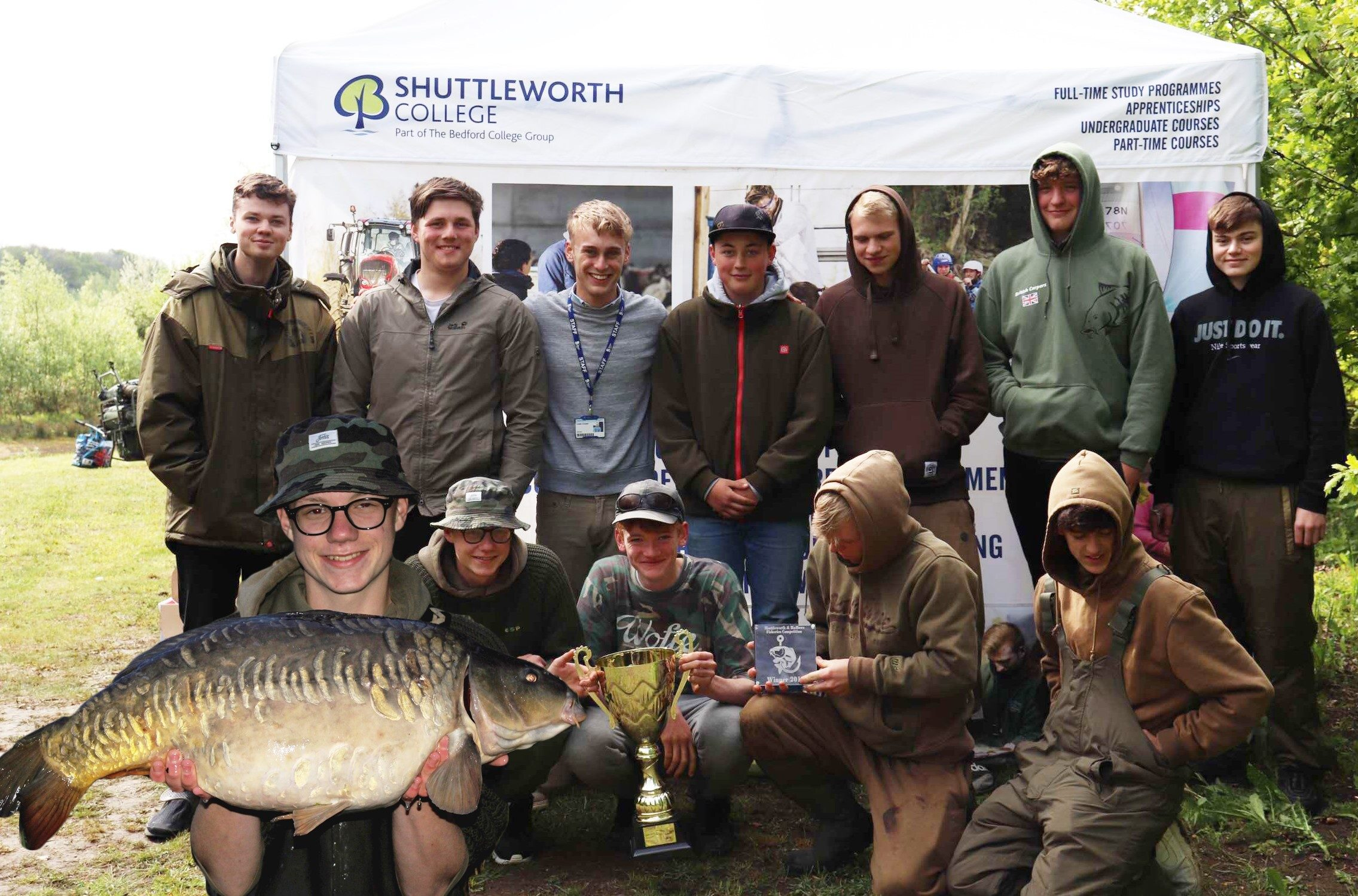 Casting net wide for careers Fisheries competition 2019