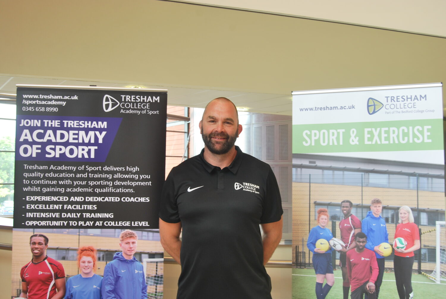 Tresham College Jon Phillips appointed as Head Rugby Coach