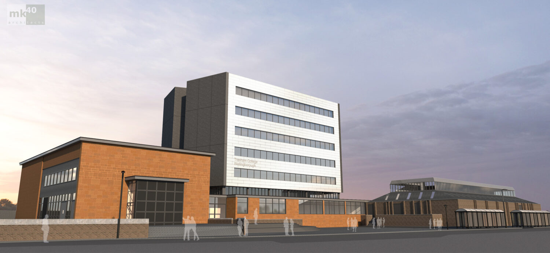 Tresham College Wellingborough Campus redevelopment design