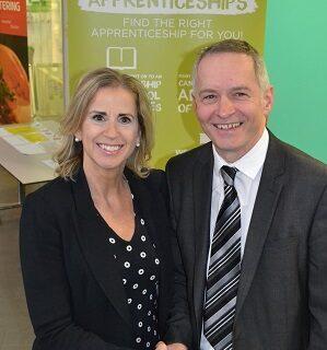 Tayto partnership with Tresham College